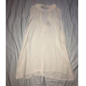 LOFT shear white swing top